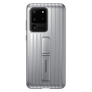 Official Samsung Galaxy S20 Ultra Protective Cover Case - Silver