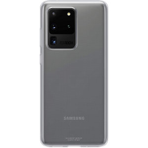 This Official Samsung Clear Cover is the perfect accessory for your Samsung Galaxy S20 Ultra smartphone. The bespoke fitting of this case allows your S20 Ultra to remain fully functional whilst being protected.