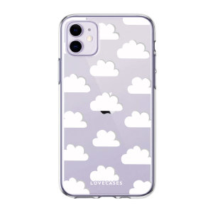 LoveCases iPhone 11 Gel Case - Clouds