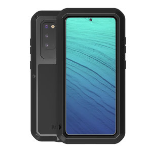 Protect your Samsung Galaxy S20 with one of the toughest and most protective cases on the market, ideal for helping to prevent possible damage from water and dust - this is the black Love Mei Powerful Protective Case.