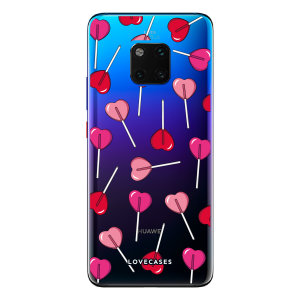 Give your Huawei Mate 20 Pro a cute new look with this Valentines Lollypop design phone case from LoveCases. Cute but protective, the ultra-thin case provides slim fitting and durable protection against life's little accidents