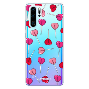 Give your Huawei P30 Pro a cute new look with this Valentines Lollypop design phone case from LoveCases. Cute but protective, the ultra-thin case provides slim fitting and durable protection against life's little accidents.