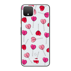LoveCases Google Pixel 4 XL Lollypop Clear Phone Case