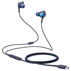 Enjoy crystal clear high quality music with this official pair of Samsung Tuned By ANC In-Ear Headphones in Blue. These ANC headphones have a type-c connectivity and are compatible with all type-c devices including the Samsung, Huawei, Oneplus and more.