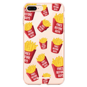 Take your iPhone 8 Plus to the next level with this Fries Before Guys phone case from LoveCases. Cute but protective, the ultra-thin case provides slim fitting and durable protection against life's little accidents.