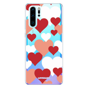 Give your Huawei P30  a cute new look with this Lovehearts design phone case from LoveCases. Cute but protective, the ultra-thin case provides slim fitting and durable protection against life's little accidents.