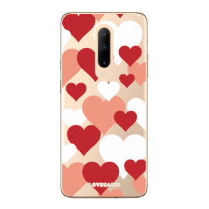 Give your OnePlus 7 Pro a cute new look with this Bold Hearts design phone case from LoveCases. Cute but protective, the ultra-thin case provides slim fitting and durable protection against life's little accidents