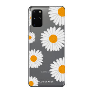Give your Samsung S20 Plus a cute new look with this Daisy design phone case from LoveCases. Cute but protective, the ultra-thin case provides slim fitting and durable protection against life's little accidents