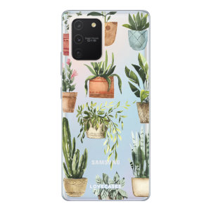 Give your Samsung Galaxy S10 Lite a cute new look with this Plants design phone case from LoveCases. Cute but protective, the ultra-thin case provides slim fitting and durable protection against life's little accidents