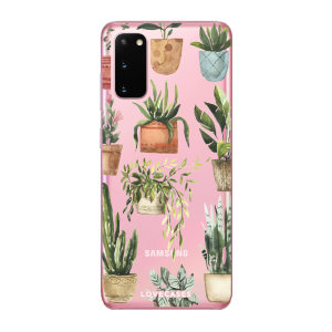 LoveCases Samsung Galaxy S20 Gel Case - Plants