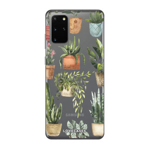 Give your Samsung S20 Plus a cute new look with this Plants design phone case from LoveCases. Cute but protective, the ultra-thin case provides slim fitting and durable protection against life's little accidents