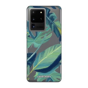 Give your Samsung Galaxy S20 Ultra 5G a cute new look with this Tropical design phone case from LoveCases. Cute but protective, the ultra-thin case provides slim fitting and durable protection against life's little accidents