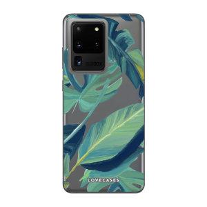 Offrez un style original à votre Samsung Galaxy S20 Ultra avec la coque LoveCases Nature tropicale. Mince et parfaitement ajustée, elle assure une protection optimale à votre téléphone tout en lui ajoutant un style unique sur base transparente.