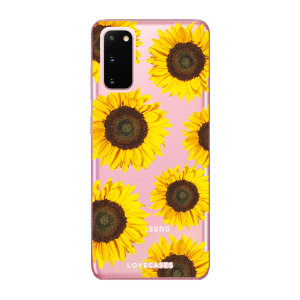 Give your Samsung Galaxy S20 5G a cute new look with this Sunflower design phone case from LoveCases. Cute but protective, the ultra-thin case provides slim fitting and durable protection against life's little accidents