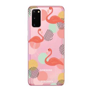 Give your Samsung Galaxy S20 5G a cute new look with this Flamingo design phone case from LoveCases. Cute but protective, the ultra-thin case provides slim fitting and durable protection against life's little accidents