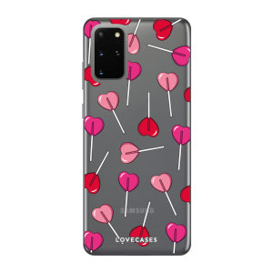 Give your Samsung S20 Plus a cute new look with this Valentines Lollypop design phone case from LoveCases. Cute but protective, the ultra-thin case provides slim fitting and durable protection against life's little accidents