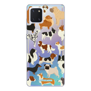 Give your Samsung Galaxy Note 10 Lite a cute new look with this Dogs design phone case from LoveCases. Cute but protective, the ultra-thin case provides slim fitting and durable protection against life's little accidents