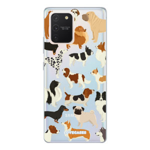 Give your Samsung Galaxy S10 Lite a cute new look with this Dogs design phone case from LoveCases. Cute but protective, the ultra-thin case provides slim fitting and durable protection against life's little accidents