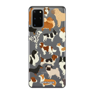Give your Samsung S20 Plus a cute new look with this Dogs design phone case from LoveCases. Cute but protective, the ultra-thin case provides slim fitting and durable protection against life's little accidents