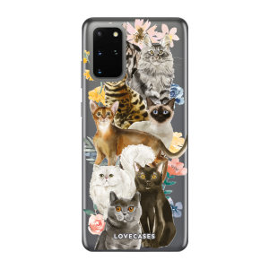 Give your Samsung S20 Plus a cute new look with this Cats design phone case from LoveCases. Cute but protective, the ultra-thin case provides slim fitting and durable protection against life's little accidents