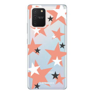 Give your Samsung Galaxy S10 Lite a cute new look with this Pink Star design phone case from LoveCases. Cute but protective, the ultra-thin case provides slim fitting and durable protection against life's little accidents