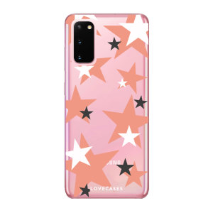 Give your Samsung Galaxy S20 5G a cute new look with this Pink Star design phone case from LoveCases. Cute but protective, the ultra-thin case provides slim fitting and durable protection against life's little accidents
