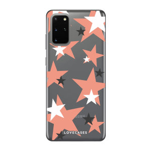Give your Samsung S20 Plus a cute new look with this Pink Star design phone case from LoveCases. Cute but protective, the ultra-thin case provides slim fitting and durable protection against life's little accidents