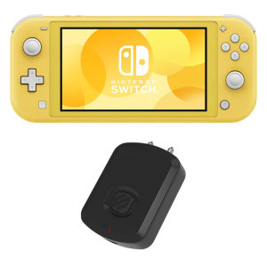 Scosche FlyTunes Nintendo Switch Lite Bluetooth Adapter Dongle - Black