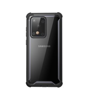 Shield your Samsung Galaxy S20 Ultra from drops, scratches, scrapes and other damage with the Ares case from i-Blason in Black. This case offers superb military grade all round protection while adding virtually no extra bulk to your device.
