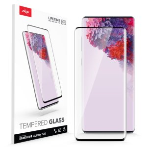 Protect all of your Samsung Galaxy S20 beautiful display  of edge to edge tempered glass screen protectors from Zizo. With superb clarity and a durable construction this is the perfect way to keep your screen looking good.