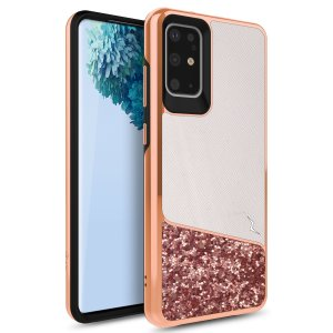 The sleek division series for the Samsung Galaxy S20 Plus. The wanderlust finish gives you protection for your phone in style. This case is made for pure luxury and style.