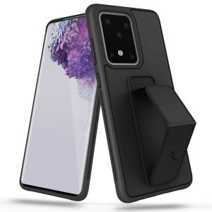 Equip your Samsung Galaxy S20 Ultra with maximum protection and superb functionality with the stylish grip series case in Stealth Black from Zizo. Coming complete with a kickback stand for multi-functional use to add convenience to your lifestyle.