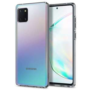 Durable and lightweight, the Spigen Liquid Crystal series for the Samsung Galaxy Note 10 Lite offers premium protection in a slim, stylish package. Carefully designed, the Liquid Crystal case is form-fitted for a perfect fit.