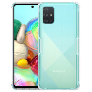 Keep your Samsung Galaxy A71 protected from bumps & drops with the Nillkin Nature Gel case in Smoke. Featuring shock absorbing technology, thickened protection, anti fingerprint resistant & featherweight this case from Nillkin is perfect for your A71.
