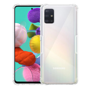 Keep your Galaxy A51 protected from bumps & drops with the Nillkin Nature Gel case in Crystal White. Featuring shock absorbing technology, thickened protection, anti fingerprint resistant & featherweight this case from Nillkin is perfect for your A51.