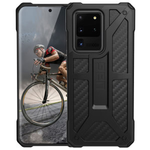 UAG Monarch Samsung Galaxy S20 Ultra Case - Carbon Fiber