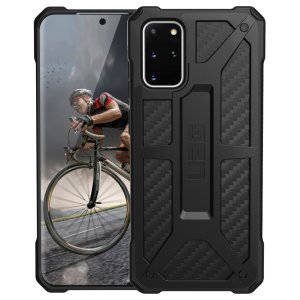 The Urban Armour Gear Monarch in Carbon Fiber for the Samsung Galaxy S20 Plus is quite possibly the king of protective cases. With 5 layers of premium protection and the finest materials, your Galaxy S10 Plus is safe, secure and in some style too.