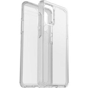 De dual-materiaal constructie maakt het Symmetry duidelijk geval voor de Samsung Galaxy S20 Plus een van de dunste maar de meeste beschermende case in zijn klasse. De Symmetry serie heeft de stijl die u wilt met de bescherming van uw telefoon nodig heeft.
