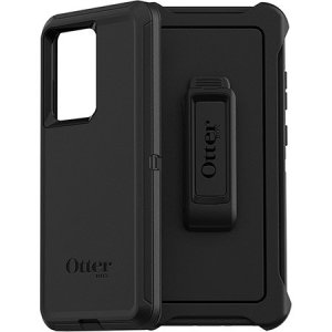 Protect your Samsung Galaxy S20 Ultra with the toughest and most protective case on the market - the OtterBox Defender Series Screenless Edition in black.