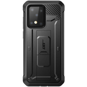 The thinnest, strongest, most rugged case in the industry, the UB Pro has survived 30-foot drops, gunshots, muscle cars & wipeouts at 55 MPH. With 360° of flexible TPU polycarbonate, a built-in kickstand, & complete protection your S20 Ultra is protected.