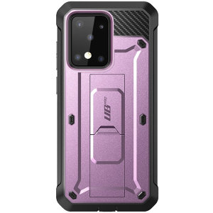 The thinnest, strongest, most rugged case on the market, the UB Pro has survived 30-foot drops, gunshots, muscle cars & wipeouts at 55 MPH. With 360° of flexible TPU polycarbonate, a built-in kickstand, & complete protection your S20 Ultra is protected.