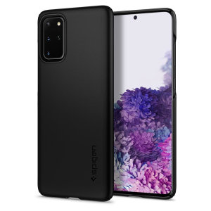 Durable and lightweight, the Spigen Thin Fit series for the Samsung Galaxy S20 Plus offers premium protection in a slim, stylish package. Carefully designed the Thin Fit case in smooth black is form-fitted for a perfect fit.