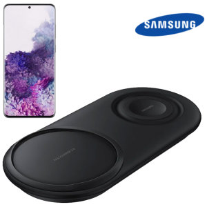 Official Samsung S20 Plus Wireless Fast Charging 2.0 Duo Pad - Black
