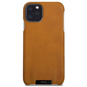 Vaja Grip iPhone 11 Pro Max Premium Leather Case - London Pointille