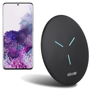 Olixar Samsung Galaxy S20 Plus Slim 10W Fast Wireless Charging Pad