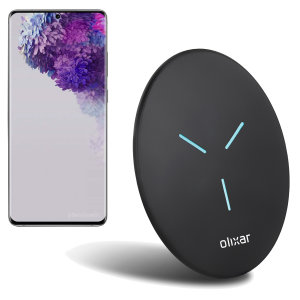 Enjoy the cable-free convenience of fast wireless charging with this super thin and compact wireless charger from Olixar. Offering up to 10W charging for the Samsung Galaxy S20 ultra.