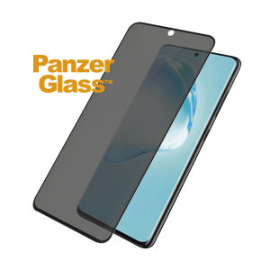 Introducing the PanzerGlass glass case friendly screen protector with privacy filter. Designed to be shock resistant and scratch resistant, PanzerGlass offers ultimate protection for your Samsung Galaxy S20 display.