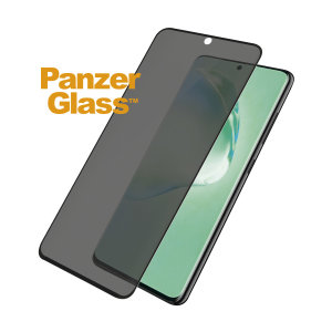 Introducing the PanzerGlass glass case friendly screen protector with privacy filter. Designed to be shock resistant and scratch resistant, PanzerGlass offers ultimate protection for your Samsung Galaxy S20 Plus display.