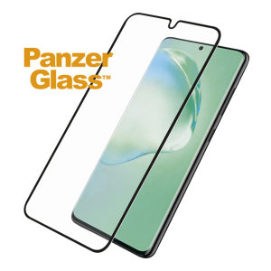 The PanzerGlass Biometric PET 5H FlexiGlass screen protector for your Galaxy S20 Plus is designed to be shock & scratch resistant whilst offering 100% touch sensitivity and being compatible with the in-display fingerprint sensor.
