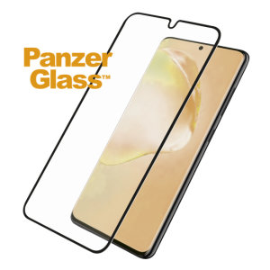 The PanzerGlass Biometric screen protector for your Galaxy S20 Ultra is designed to be shock & scratch resistant & now offering enhanced biometric readings keeping up with the ultrasonic unlocking speed. The full fit frame ensures advanced protection.